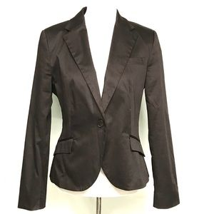 Zara basic brown blazer